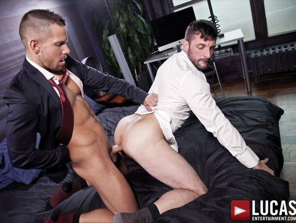 Morgan Black Shane Frost Suit Sex Bareback