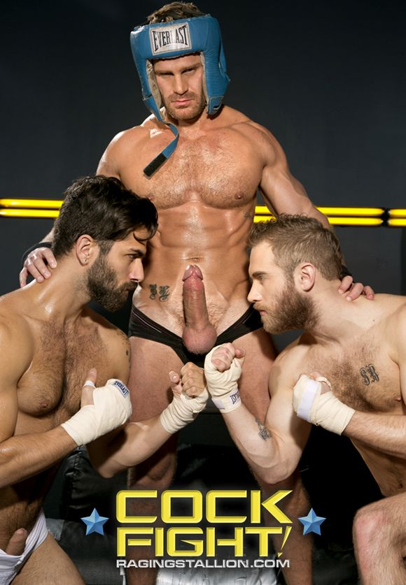 Cock Fight Landon Conrad Shawn Wolfe Adam Ramzi