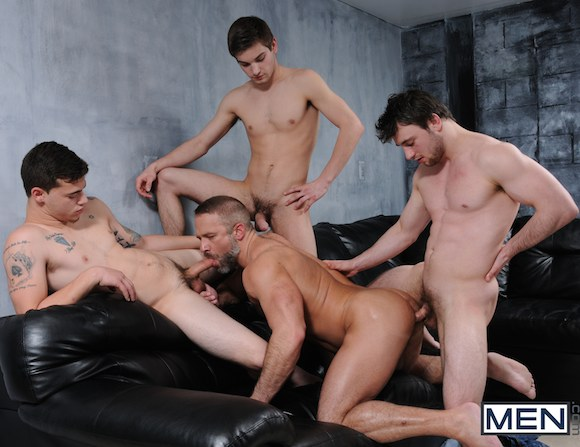 Dirk Caber Johnny Rapid Scott Harbor Trevor Spade Orgy