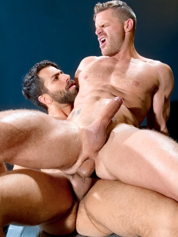 Landon Conrad Adam Ramzi COCK FIGHT