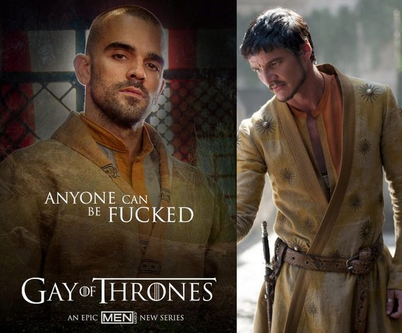Damien Crosse Gay of Thrones Oberyn Martell