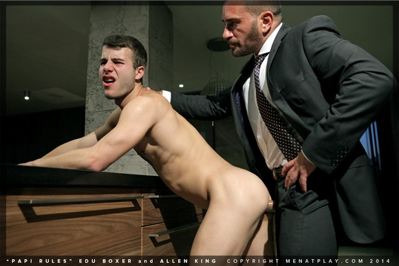 Edu Boxer Fucks Allen King Suit Sex