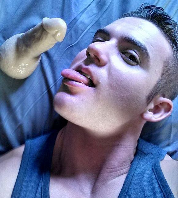 Killian James Randy Blue Gay Porn Star Dildo