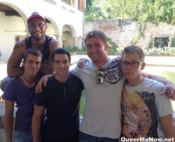 Gay Porn Stars Connor Maguire Gino Mosca Claude Sorel Rick Lautner