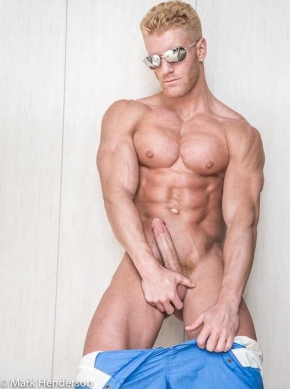 Johnny V Gay Porn Star Muscle Hardon
