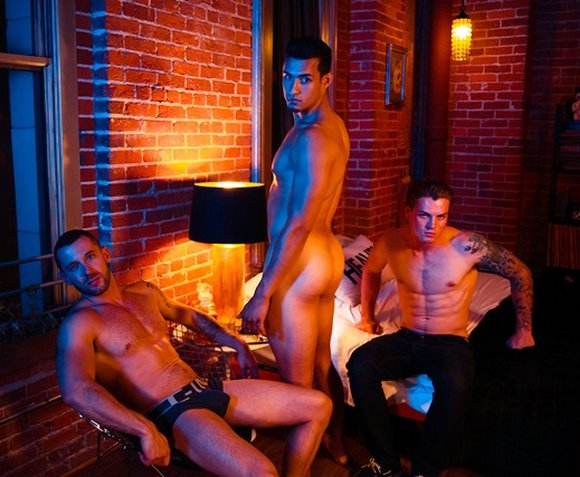 Tyler Wolf Angel Santiago Zane Porter Randy Blue Welcome To LA