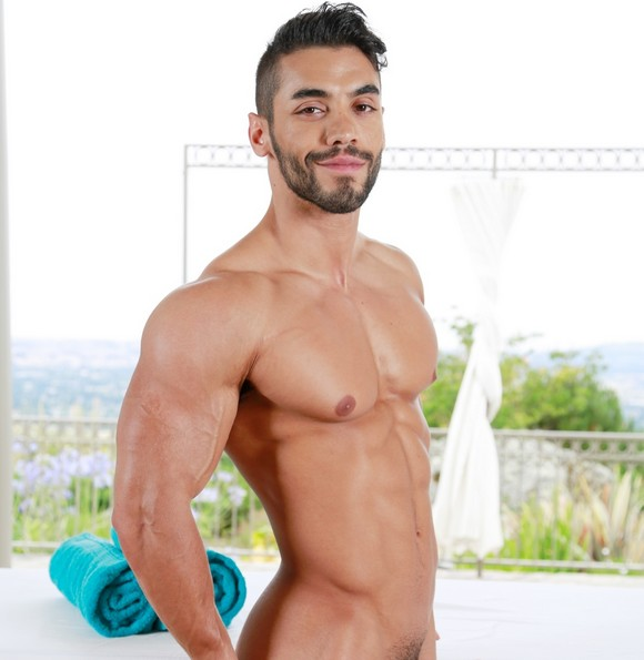 ARAD Gay Porn Star Muscle Nude
