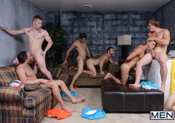 Gay Sex Orgy Bump