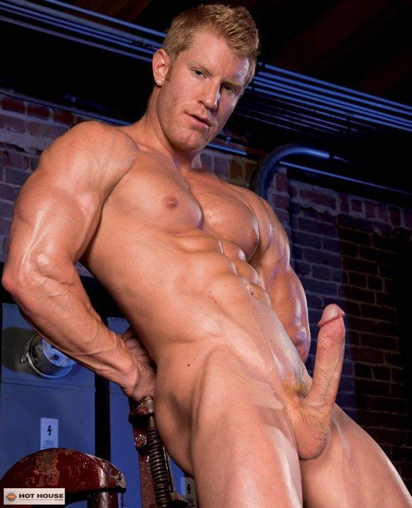 Johnny V Gay Porn Star Bodybuilder Hard Dick Naked