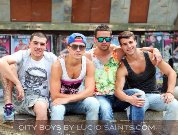 CITY BOYS Allen King Robbie Rojo Yury Lysenko