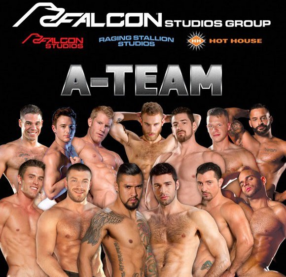 Falcon Studios Group A-Team Gay Porn Stars