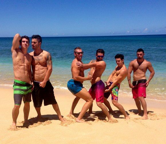 Fratmen Fratpad Hawaii Porn Models