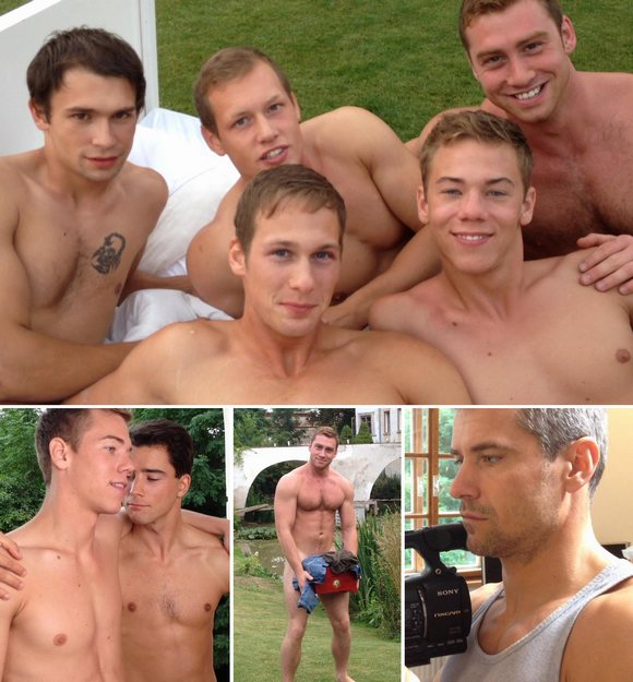 Gay Porn Behind The Scenes Dirty Rascals BelAmi Nakedsword
