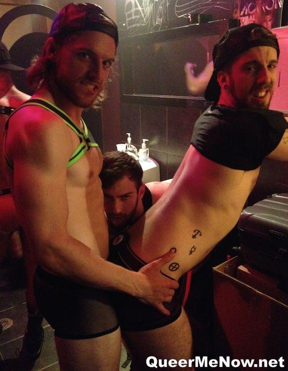 Tayte Hanson Bravo Delta HustlaBall NYC 2014 Gay Porn Stars