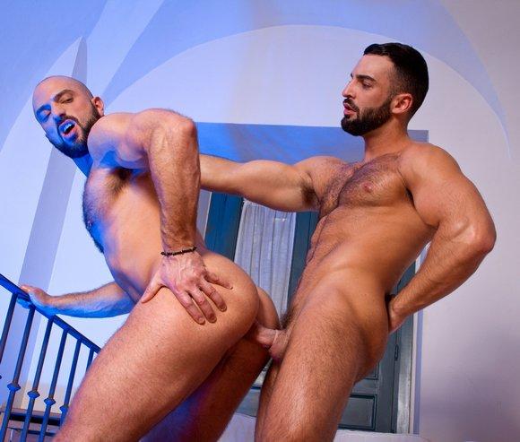 Bruno Boni Abraham Al Malek Gay Porn