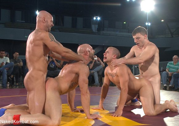 NakedKombat Mitch Vaughn Doug Acre Eli Hunter Tatum