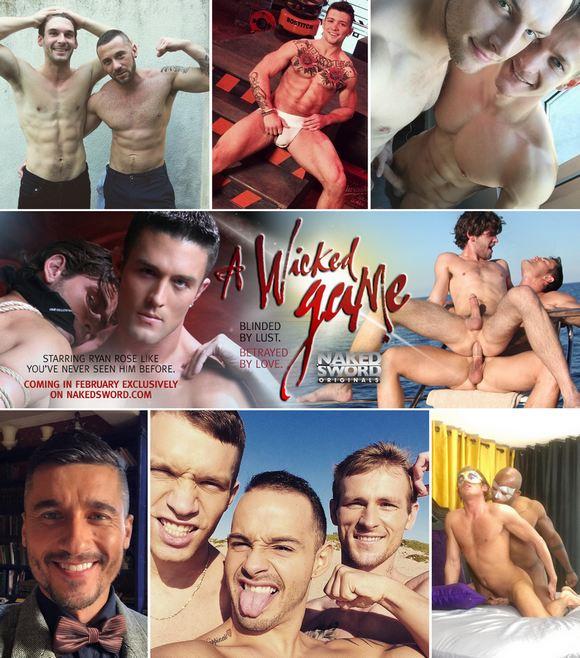 Gay Porn BTS Sebastian Kross Darius Ferdynand Tayte Hanson Jay Roberts