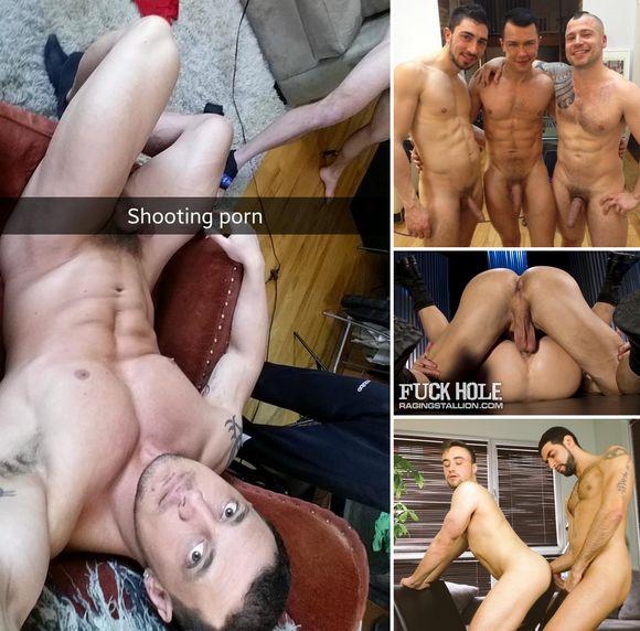 JoeyD David Lambert Russ Magnus Gay Porn BTS
