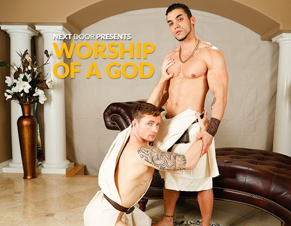Markie More Arad Worship of a God Gay Porn Muscle