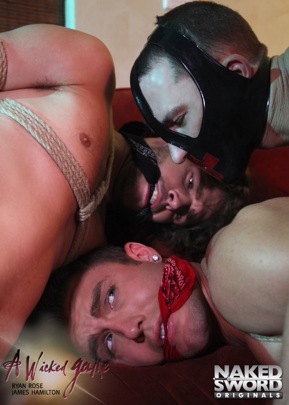 Ryan Rose James Hamilton Duncan Black Kinky Bondage Gay Porn