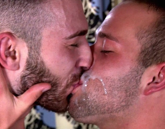 Jarec Wentworth Luke Adams Gay Kiss Cum Snowballing