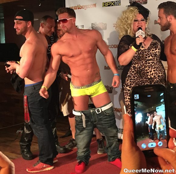Larz Shirtless TheGuySite Hookies 2015