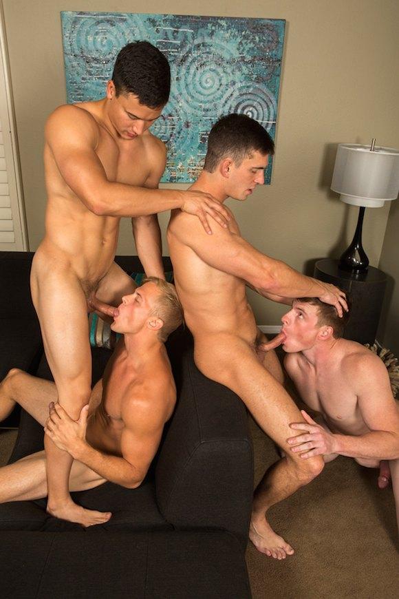 Gay orgy sean is a porn starlet that took a 6