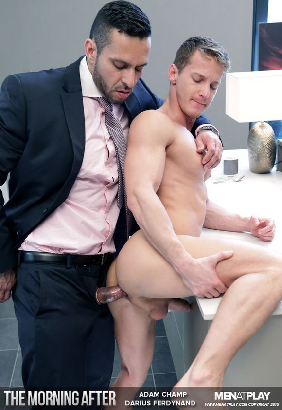 Adam Champ Darius Ferdynand Gay Porn Menatplay