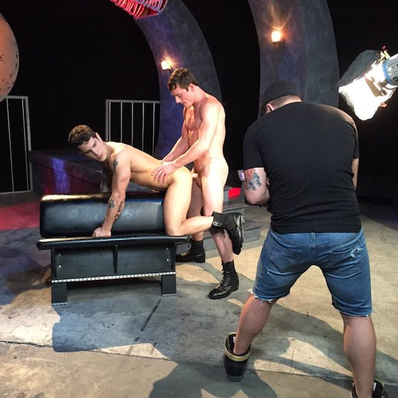 Brent Corrigan Pierre Fitch Falcon Gay Porn Photoshoot