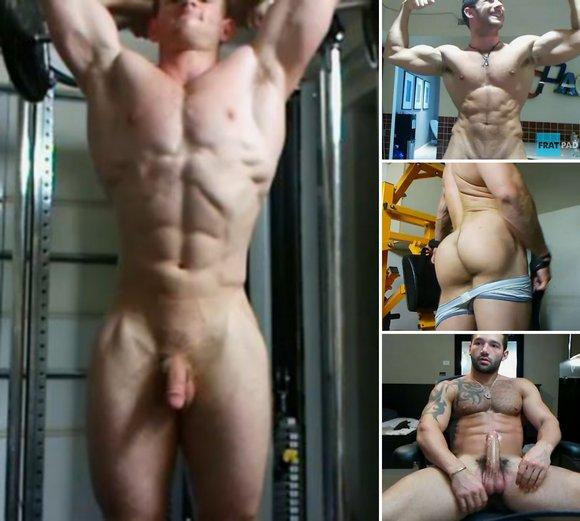 Fratmen Fratpad Male Nude Naked Muscle Jock