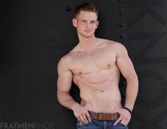 Fratmen Knox Muscle Jock Male Porn Model