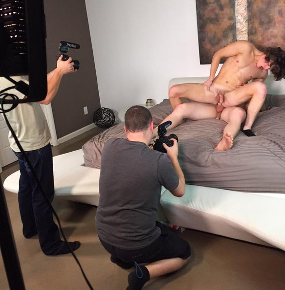 image Behind the scene preparing 69 oral sex deepthroat petera garganta profunda