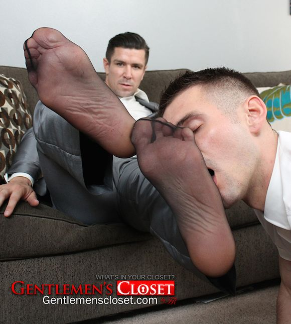 Gay porn sheer socks