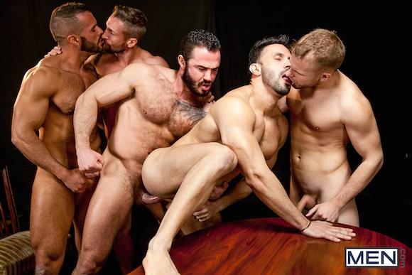 Jessy Ares Flex Denis Vega Nick North Malek Tobias Muscle Gay Orgy
