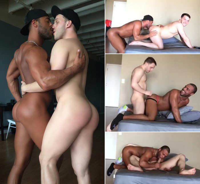 Interracial sex video
