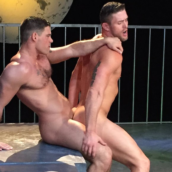 Ryan Rose Derek Atlas Gay Porn BTS