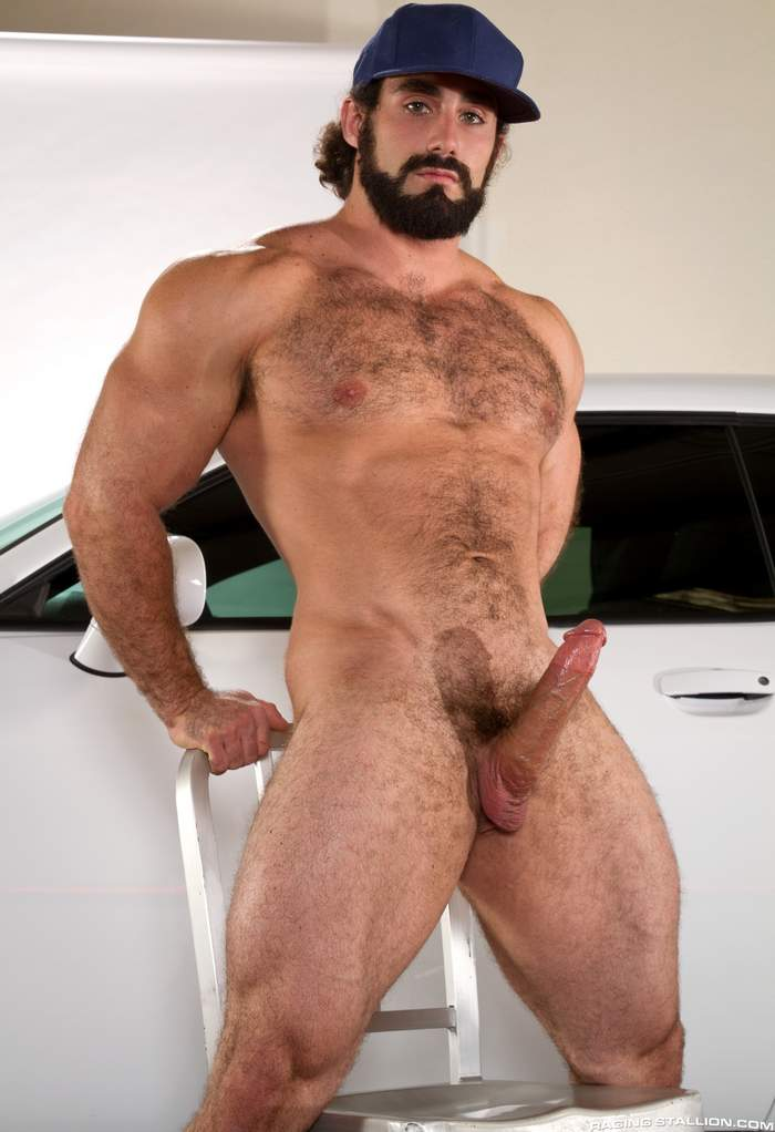 Hairy muscled gay porn stars love